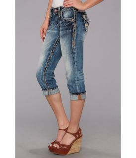 Rock Revival Angie P17 Capri Acid Wash