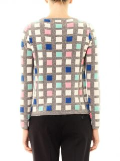 Grid cashmere sweater  Chinti and Parker