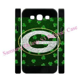 NFL Green Bay Packers logo Samsung Galaxy S3 S III back 3D Polymer soft case for fans by Coolphonecases: Cell Phones & Accessories