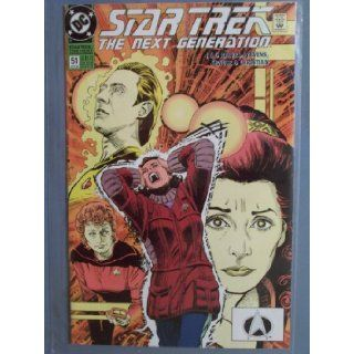 Star Trek: The Next Generation, #51 (Comic Book): Dc Comics: Books
