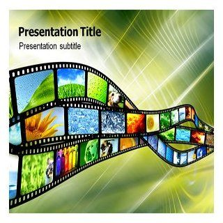Digital Film (Ppt) Powerpoint Template  Film Powerpoint Template  Movie Reel Template Software