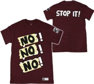 DANIEL BRYAN   NO NO NO   WWE WRESTLING T SHIRT   SIZE ADULT SMALL: Sports & Outdoors