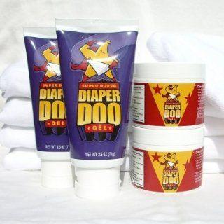 Super Duper Diaper Doo Flip Lid/Jar, 4 pk.: Health & Personal Care