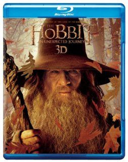 The Hobbit: An Unexpected Journey 3D [Blu ray]: Ian McKellen, Martin Freeman, Richard Armitage, James Nesbitt, Ken Stott, Cate Blanchett, Ian Holm, Christopher Lee, Hugo Weaving, Elijah Wood, Andy Serkis, Peter Jackson: Movies & TV