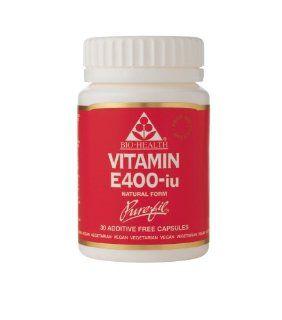 Bio Health Bio E 400iu in Vegetable Capsules 30caps: Health & Personal Care