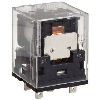 Omron MKS1XTN 10 AC120 General Purpose Power Relay, Built In Operation Indicators Type, Single Pole Single Throw Normally Open Contacts, 22.2 mA at 50 Hz and 19.3 mA at 60 Hz Rated Load Current, 120 VAC Rated Load Voltage: Electronic Relays: Industrial &am