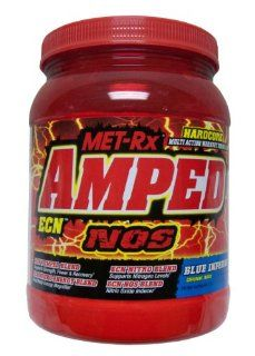Amped ECN NOS Blue Inferno   2 LB,(Met Rx) Health & Personal Care