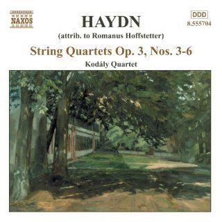 String Quartets Op 3 Nos 3 6 Music