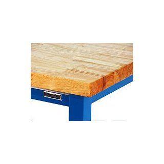 "BenchPro KW2448 Kennedy Heavy Duty Steel Garage Work Bench with Butcher Block Wood Top, 6600 lbs Capacity, 48"" Width x 30"" Height x 24"" Depth Workbenches Industrial & Scientific"