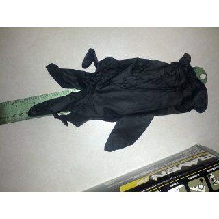 SAS Safety 66518 Raven Powder Free Disposable Black Nitrile 6 Mil Gloves, Large, 100 Gloves by Weight   Work Gloves