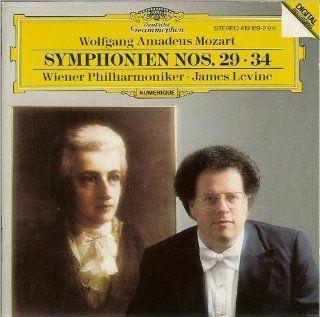 Mozart: Symphonies Nos. 29 & 34 ~ Levine: Music