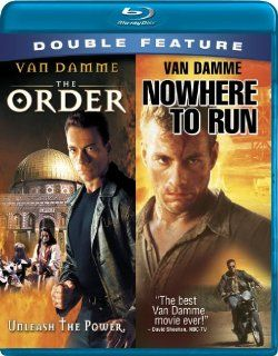 Jean Claude Van Damme Double Feature (The Order / Nowhere to Run) [Blu ray]: Jean Claude Van Damme, Charlton Heston, Rosanna Arquette, Sofia Milos, Sheldon Lettich, Robert Harmon: Movies & TV