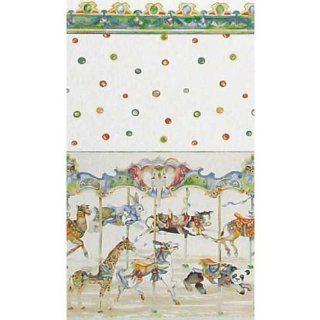 Dollhouse Miniature Carousel Wallpaper: Toys & Games