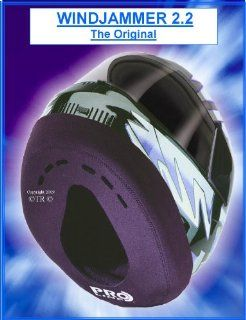 """WINDJAMMER 2 """"REDUCES WIND NOISE"""" fits all Full Face Helmets. The original often copied !: Health & Personal Care"""