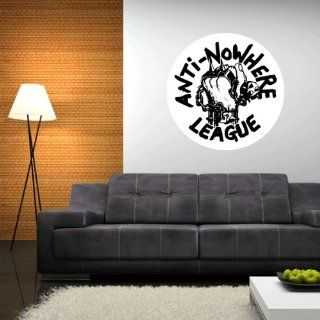 """Anti Nowhere League Wall Graphic Decal Sticker 23"""" x 23""""   Wall Decor Stickers"""