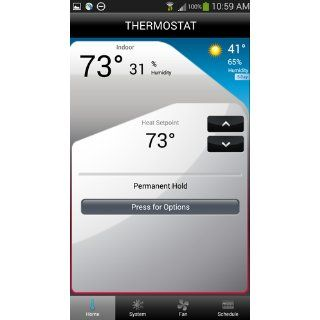 Honeywell Wi Fi Smart Thermostat with Voice Control   Programmable Household Thermostats