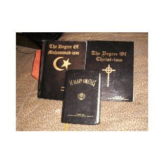 The Original Gold Bars of Overstanding (Holy Tablets Degrees of Christ ism and Muhammad ism): Clarence13x, Noble drew ALI Malachi York, These books have information that will transform your life . This is a not often seen collection..Make it yours.: Books