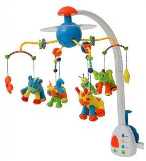 Jollybaby Interactive Crib Mobile w Lights Music: Toys & Games