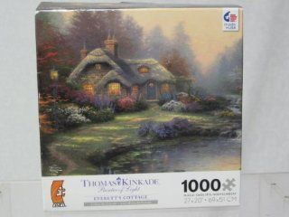 "Thomas Kinkade Painter of Light ""Everett's Cottage"" Toys & Games"