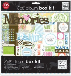 me & my BIG ideas 8 Inch by 8 Inch The Ones I Love Scrapbook Box Kit