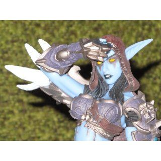 DC Unlimited World of Warcraft: Series 6: forsaken Queen: Sylvanas Windrunner Action Figure: Toys & Games