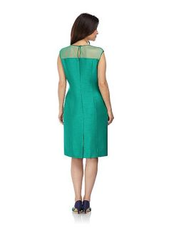 Jacques Vert Jade shift dress Green