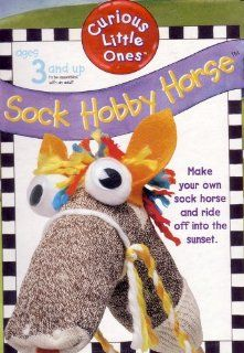 Curious Little Ones: Sock Hobby Horse: Toys & Games