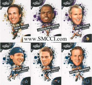 2010 Score Football NFL Players 19 Card Complete Mint Hand Collated Insert Set Including Adrian Peterson, Brett Favre, Drew Brees, Tom Brady, Peyton Manning and Many Others! at 's Sports Collectibles Store