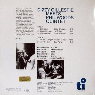 Dizzy Gillespie Meets Phil Woods Quintet: Music