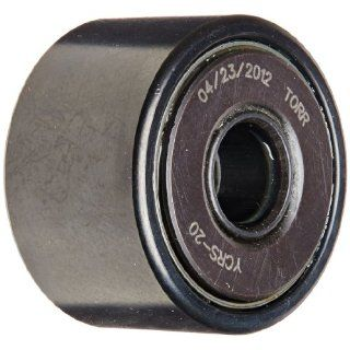 "Koyo YCRS 20 Yoke Roller, Sealed, Inch, Steel, 1 1/4"" Roller Diameter, 3/4"" Roller Width, 3/8"" Inner Diameter, 13/16"" Overall Width Cam Yoke Roller Bearings Industrial & Scientific"