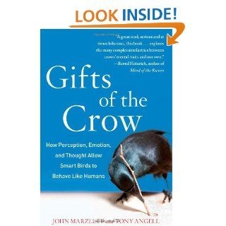 Gifts of the Crow: How Perception, Emotion, and Thought Allow Smart Birds to Behave Like Humans: John Marzluff Ph.D., Tony Angell: 9781439198735: Books
