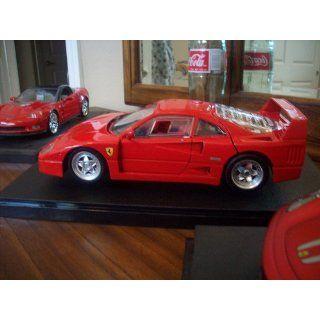 Hot Wheels 1/18 Ferrari F40 Version Die Cast Black Toys & Games