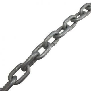 "3/8"" Galvanized Proof Coil Chain (Per ft.): Industrial & Scientific"