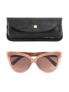 Acetate and snakeskin sunglasses  Linda Farrow  MATCHESFASHI