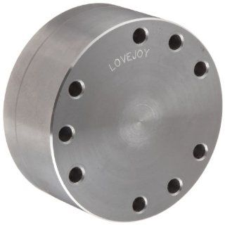 "Lovejoy 92089 Size DI158 6 Drop In Spacer Coupling Jumbo Hub, Inch, Rough Stock Bore, 6.5"" OD, 11.02"" Overall Coupling Length, 49200 Maximum Unbalanced RPM, 17700 in lbs Nominal Torque Disc Couplings Industrial & Scientific"