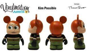 "Disney Vinylmation Animation Series 2 Kim Possible Theme Park Exclusive 3"" Figure"