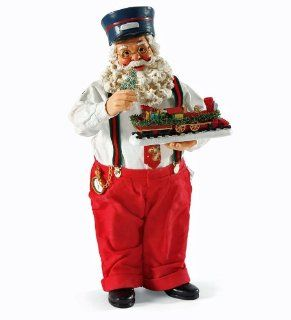 Christmas Decoration   Possible Dreams Santa Holiday Express   Santa with Toy Train   Holiday Figurines