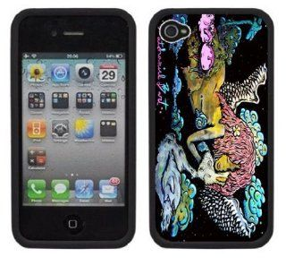 Nathan Bart's The Mermaids Kiss Handmade iPhone 4 4S Rubber Bumper Plastic Case: Cell Phones & Accessories