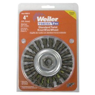 Weiler Carbon Steel Wheel Brush   0.014 in Bristle Dia Arbor Attachment   4 in OD & 20000 Max RPM   1/2 to 3/8 in Center Hole Size   Package Type: Display   36026 [PRICE is per EACH]: Soldering Iron Tips: Industrial & Scientific
