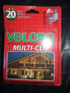 Velcro Multi Clip For Hanging Roof Lights 20 Clips Per Package