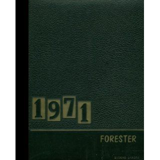 (Reprint) 1971 Yearbook: Forest Hills High School, Sidman, Pennsylvania: Forest Hills High School 1971 Yearbook Staff: Books