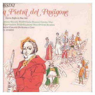 Rossini La pietra del paragone [Box set] Music