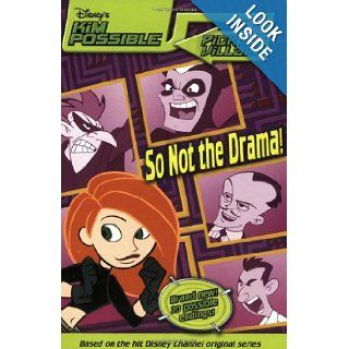 Disney's Kim Possible Pick a Villain So Not the Drama   Book #4 Acton Figueroa 9780786846900 Books