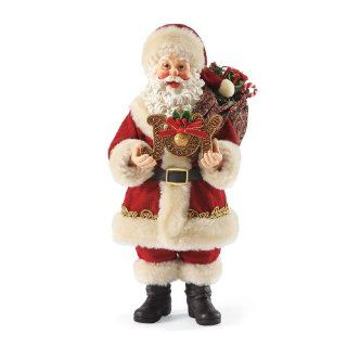 Department 56 Possible Dreams Santas Joy to The World Santa Figurine, 11 Inch   Holiday Figurines