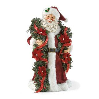Department 56 Possible Dreams Santa's Swag Santa, 12 Inch   Holiday Figurines