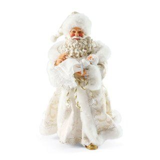 Department 56 Possible Dreams Santas Heaven Sent Santa Figurine   Decorative Plaques