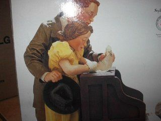 "Norman Rockwell ""Marriage License"" Possible Dreams #3062 Clothtique Norman Rockwell 06/11/1955 : Collectible Figurines : Everything Else"