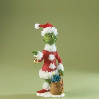 Possible Dreams Dr Seuss The Grinch Stealing Christmas   Holiday Figurines