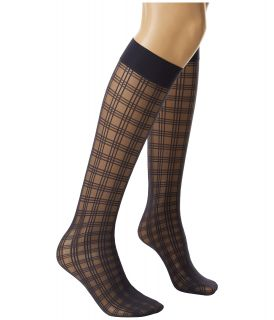 Wolford Lynne Knee Highs Dark Indigo