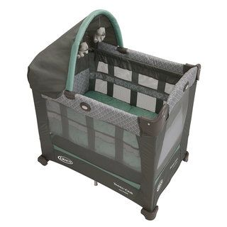 Graco Travel Lite Crib with Stages in Manor Graco Playards